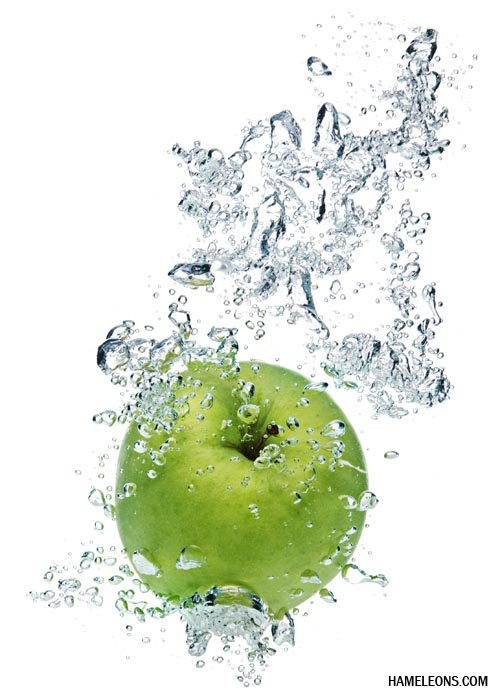 hydrated apple